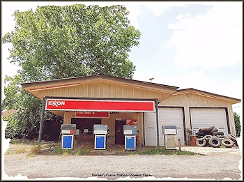 Parmer's Exxon Station on Texas Farm Road 95 in Chireno, Texas