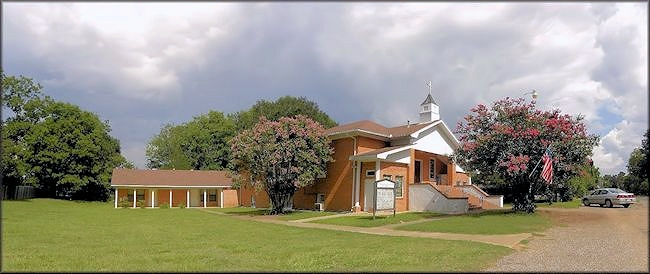 The United Methodist Church of Chireno, Texas in Historic Nacogdoches County